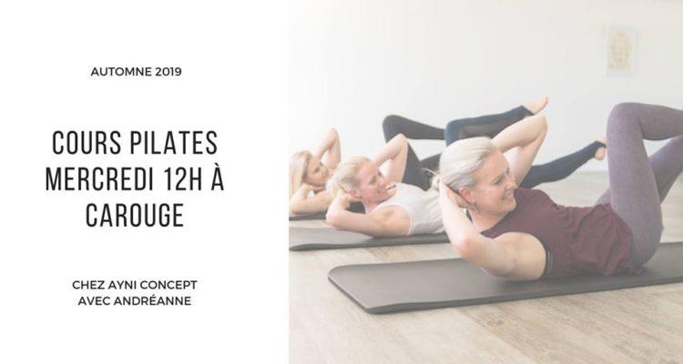 Ayni Concept propose Pilates les mercredis 12h