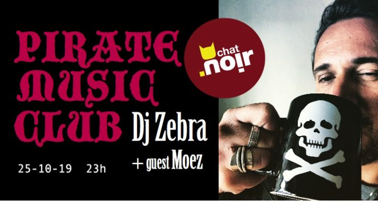 Pirate Music Club / Geneve, Chat Noir