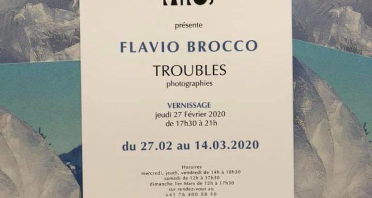 Expo « Troubles » Flavio Brocco à la Galerie Kairos
