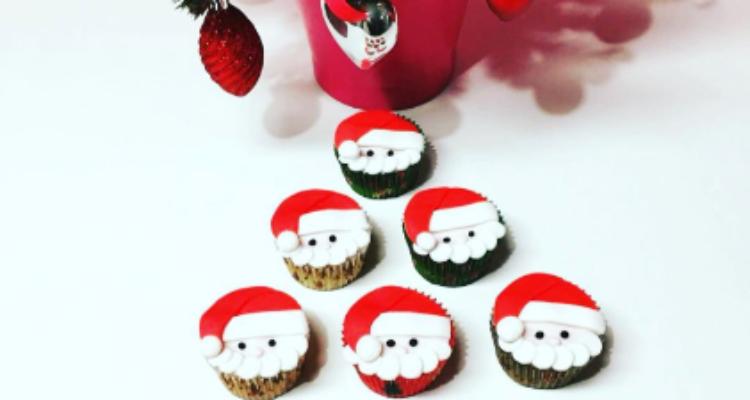 Cupcake de Noël sur commande uniquement jusqu'au 18 décembre 2019