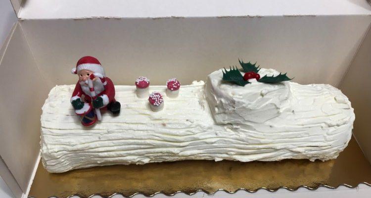 Bûche de Noël sur commande uniquement jusqu'au 18 décembre 2019